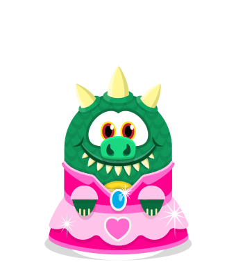 Sprite princess dress pink lizard.png