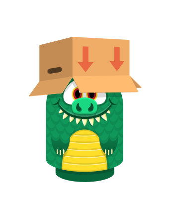 Sprite box hat brown lizard.png