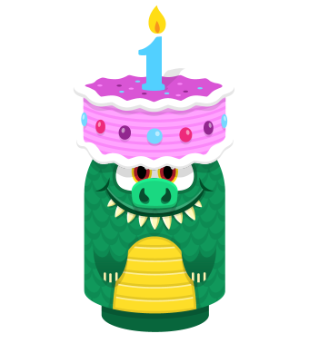 Sprite cake hat pink lizard.png