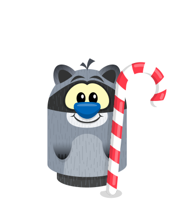 Sprite candycane raccoon.png
