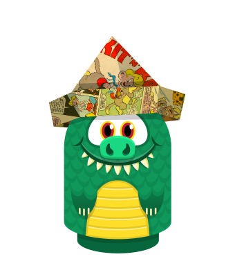 Sprite paperhat colour lizard.png