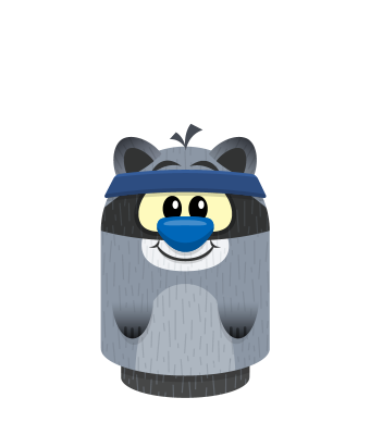 Sprite headband blue raccoon.png