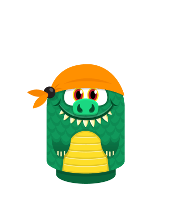 Sprite bandana orange lizard.png