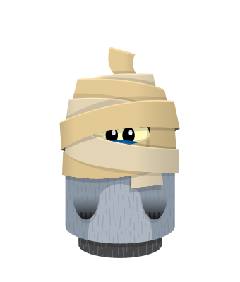Sprite mummy head raccoon.png