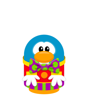Sprite clown suit red penguin.png