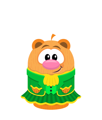 Sprite leprechaun dress hamster.png