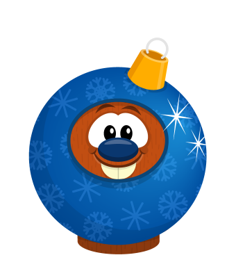 Sprite ornament blue beaver.png