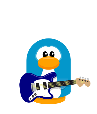 Sprite guitar blue penguin.png