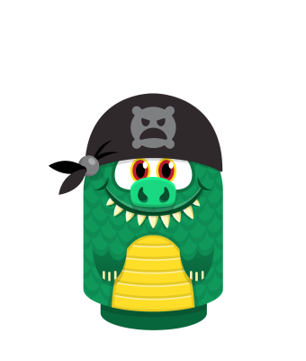 Sprite pirate bandana darkblack lizard.png