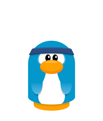 Sprite headband blue penguin.png