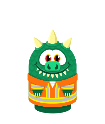 Sprite overalls orange lizard.png