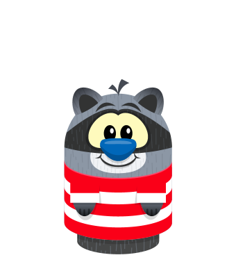 Sprite stripe red white raccoon.png