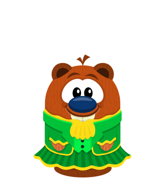 Sprite leprechaun dress beaver.png