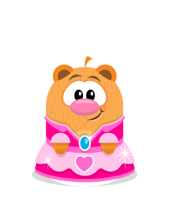 Sprite princess dress pink hamster.png
