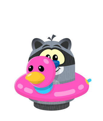 Sprite float pink raccoon.png