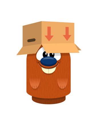 Sprite box hat brown beaver.png
