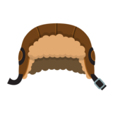 Icon aviator hat brown.png